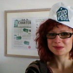 Hannah Jacobs wearing the GFO chef's hat