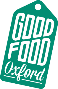 Good Food Oxford Logo rotated
