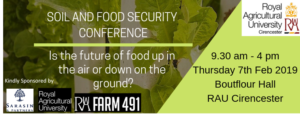 Soil and Food Security Conference @ Boutflour Hall