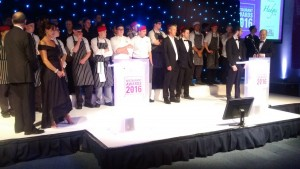 chefs at the Oxfordshire Restaurant Awards