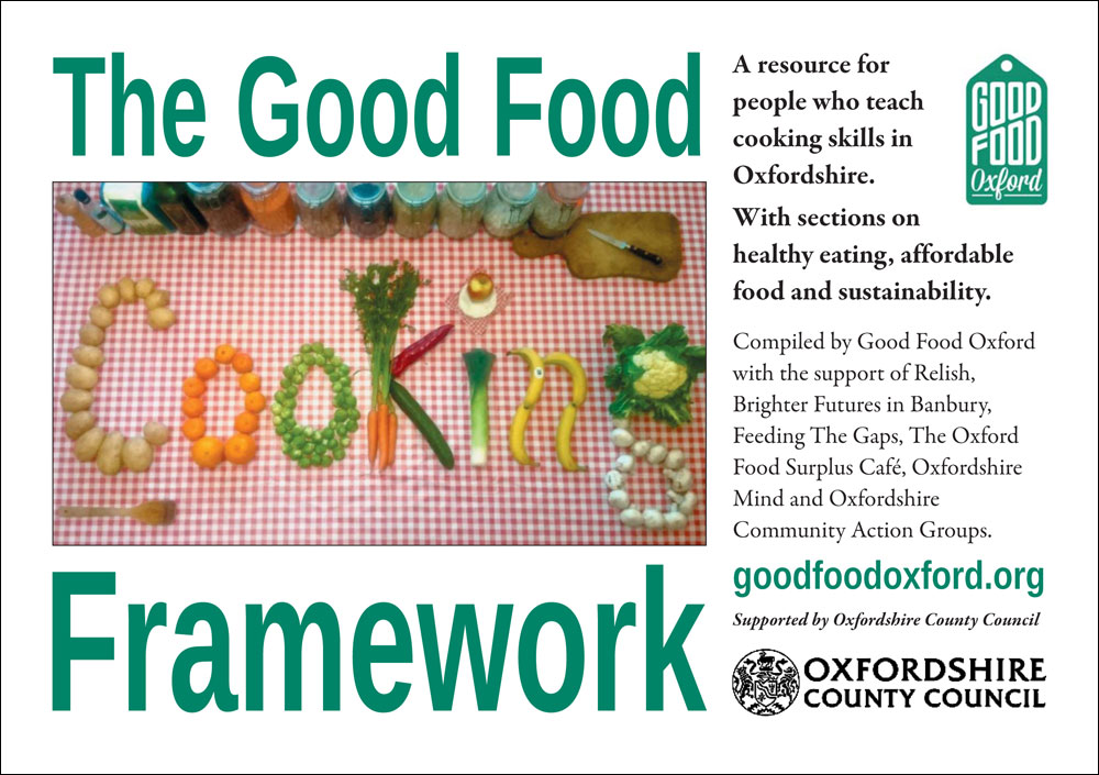 Good Food Cooking Framework