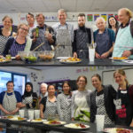 Cooking course group picture