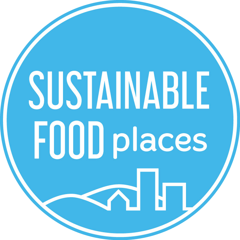 sustainable food places logo